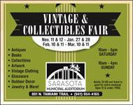 Sarasota Vintage & Colletibles Fair